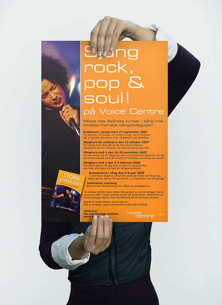 Affisch Voice Centre