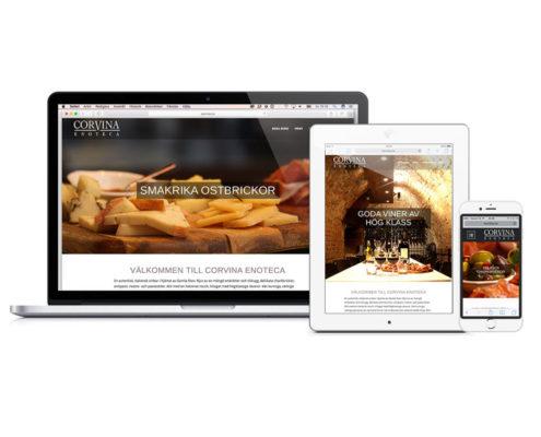 corvina.nu - webbdesign